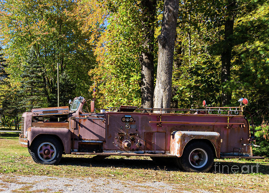 Fire Engine by Cathy Donohoue