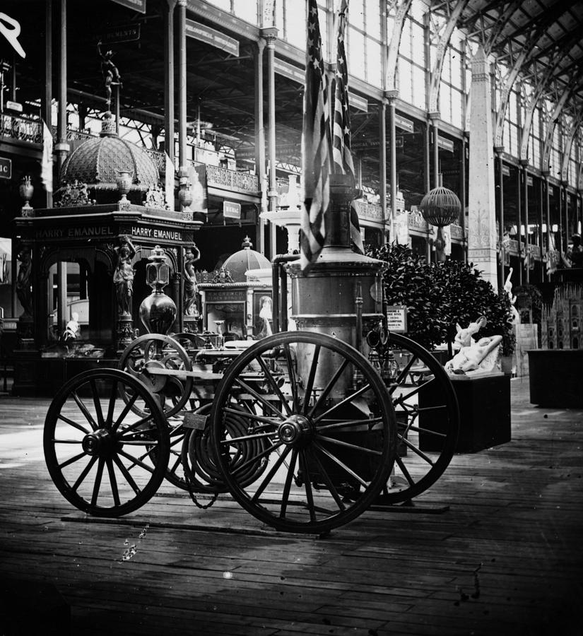 Fire Engine Photograph by William England