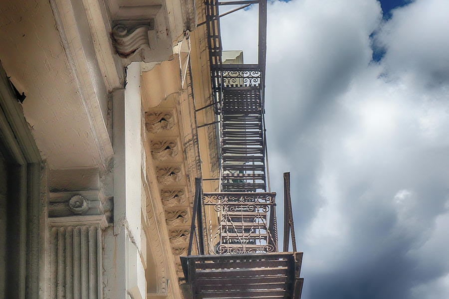 Fire Escape To Heaven by Cate Franklyn