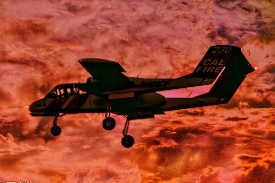 Fire in the Sky CalFire OV-10 by Tommy Anderson