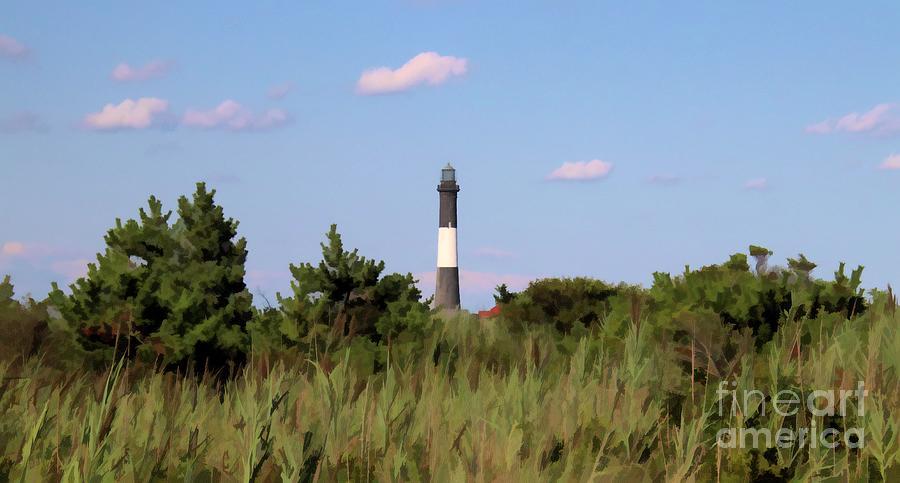 Fire Island Lighthouse Painted by Karen Silvestri