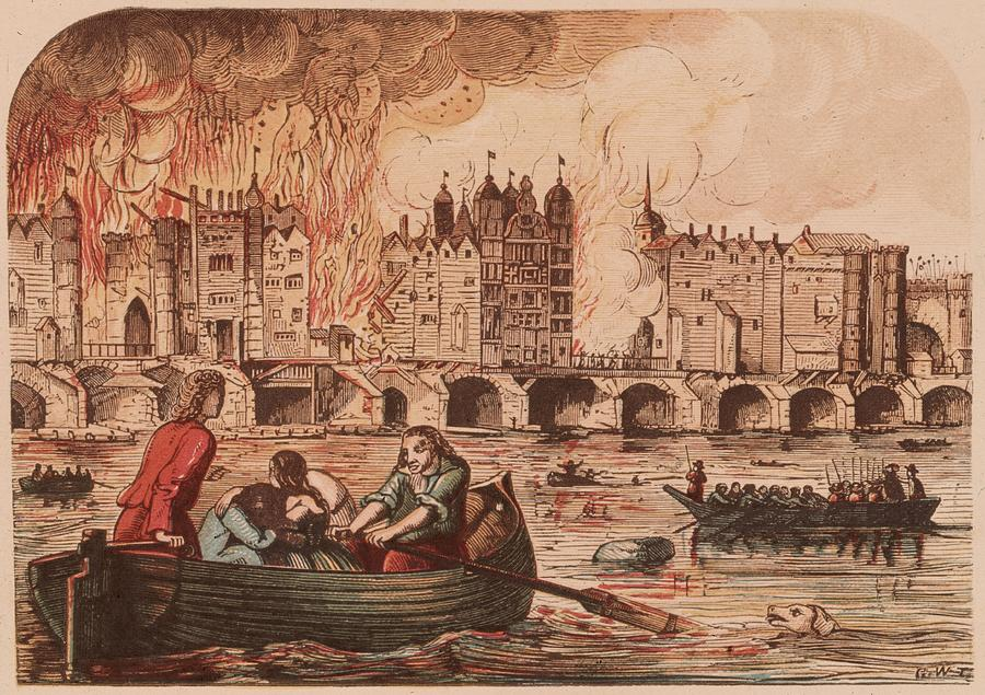Fire Of London Photograph by Hulton Archive
