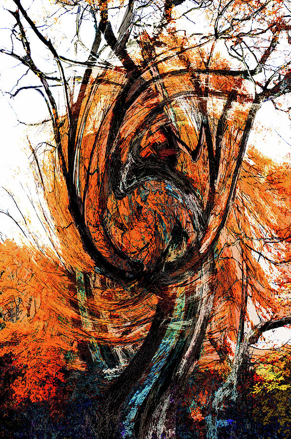 Fire Tree 2 by Michael Arend