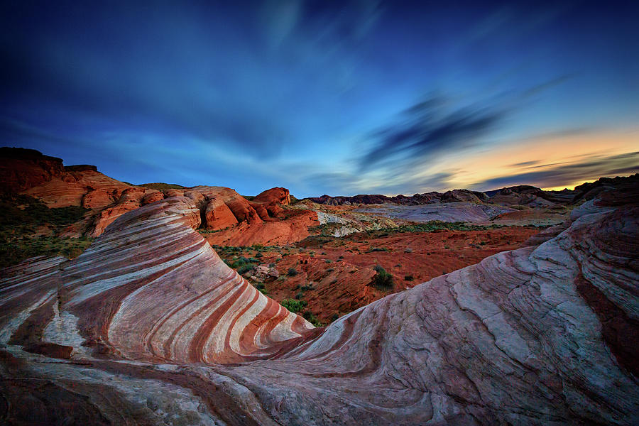 Nevada Photograph - Fire Wave Iv by Rick Berk