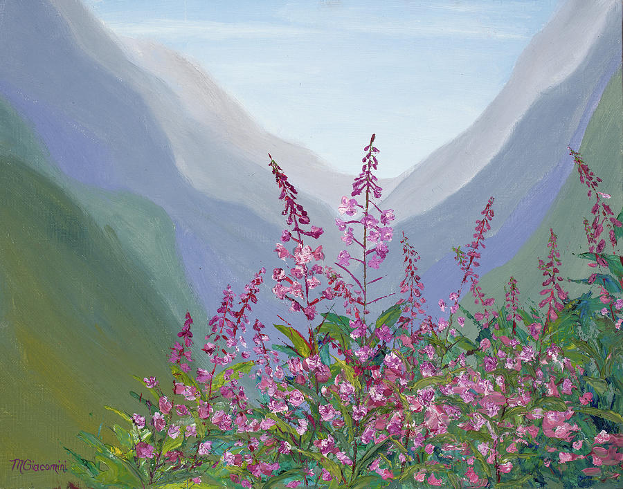 Fireweed Basin by Mary Giacomini