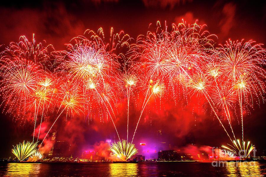 Firework 2019_3 Mixed Media