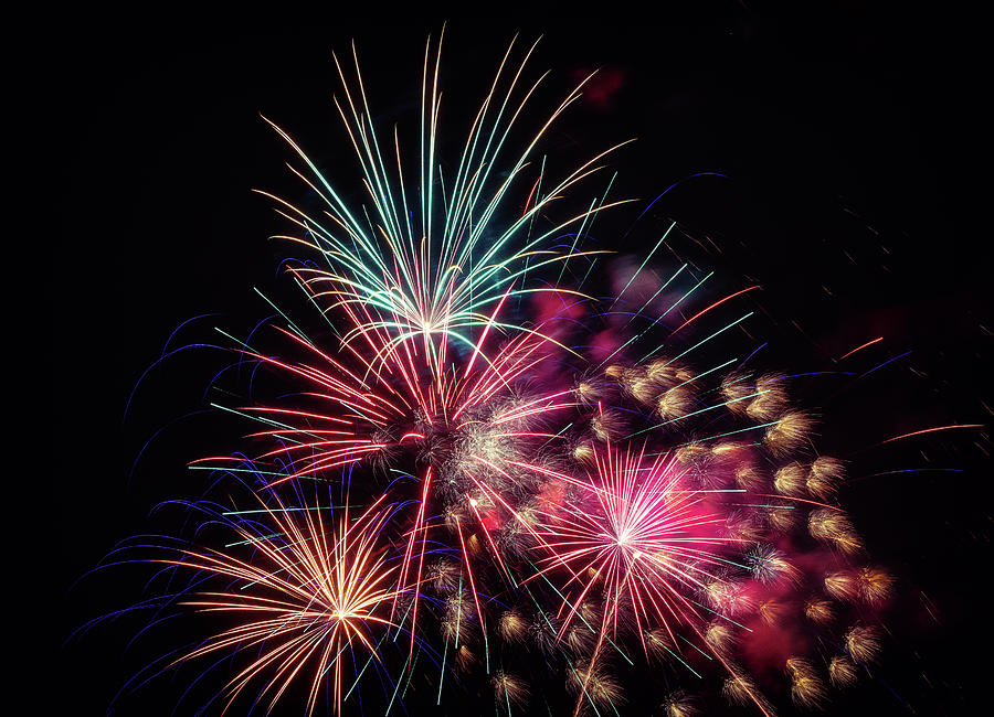 4th Of July Photograph - Fireworks 2019 One by Marnie Patchett