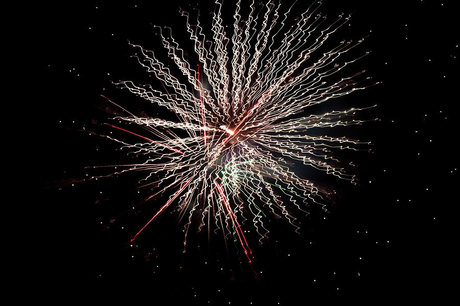 4th Of July Photograph - Fireworks 2019 Twelve by Marnie Patchett