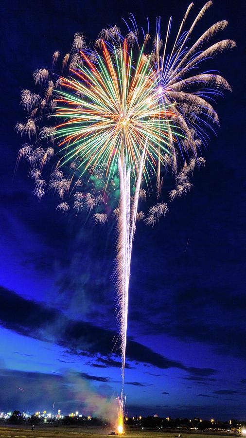 Fireworks Photograph - Fireworks Celebration - #2 by Stephen Stookey