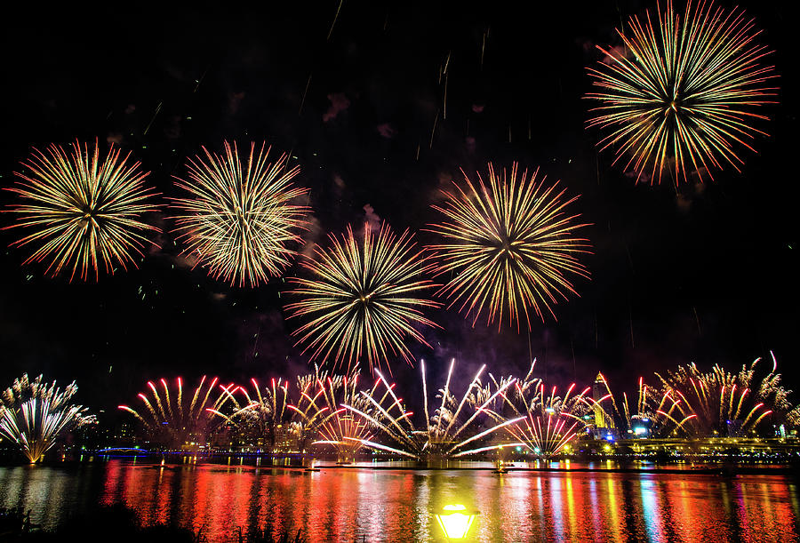 Fireworks Photograph by Cjfan
