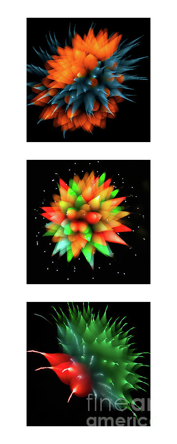 FIREWORKS ABSTRACT COLLECTION by Doug Sturgess