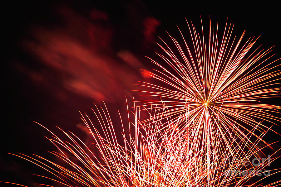 Fireworks Photograph - Fireworks 2 by Gina Matarazzo