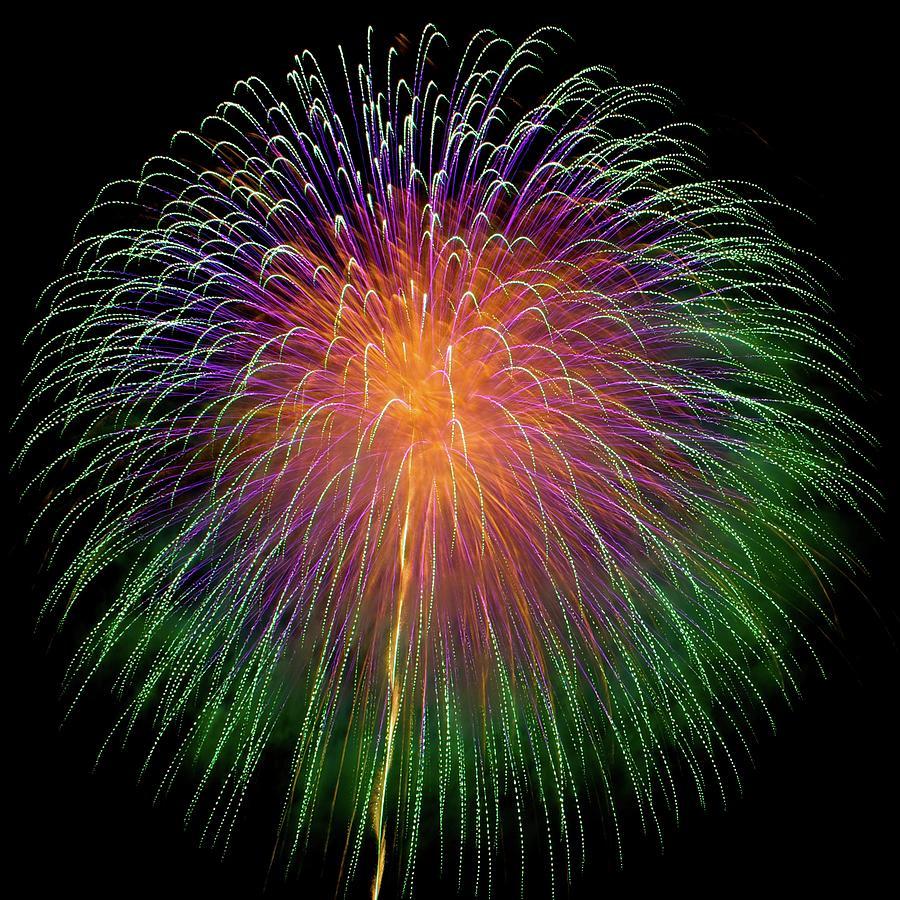 Fireworks In Katakai Matsuri Photograph by Takuya Asada