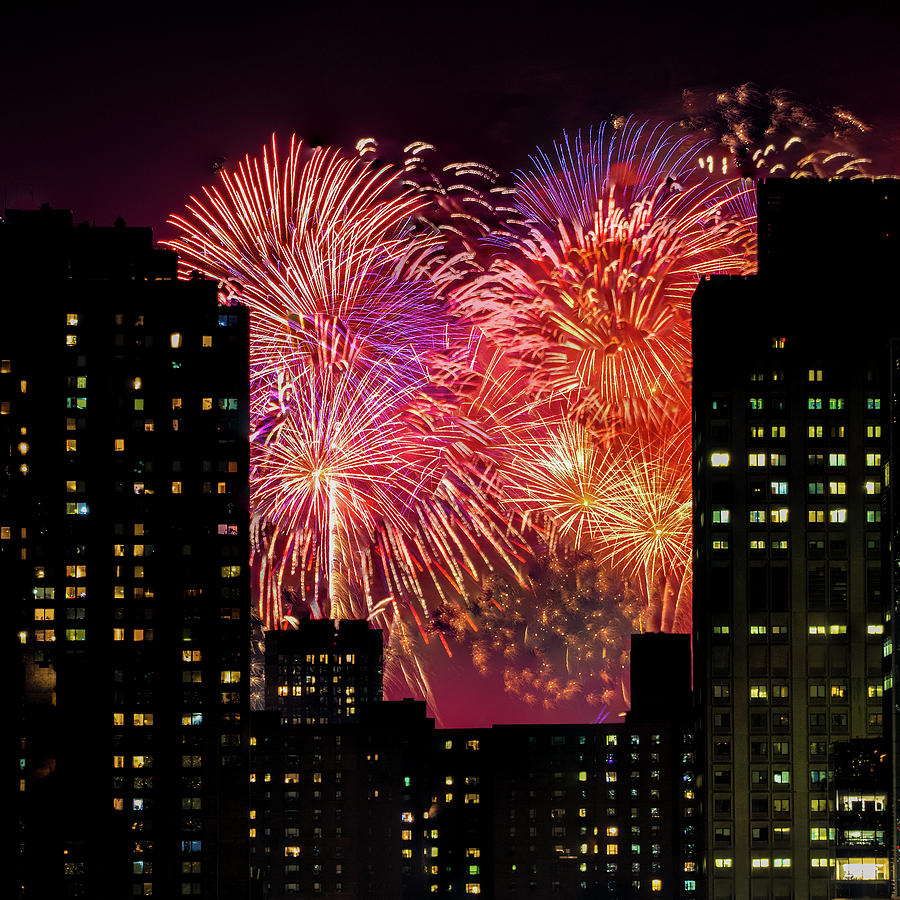Fireworks In New York City by Chris Lord