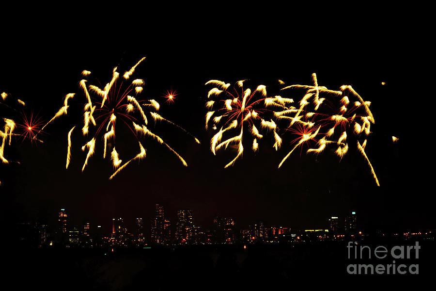 Fireworks Iv Photograph