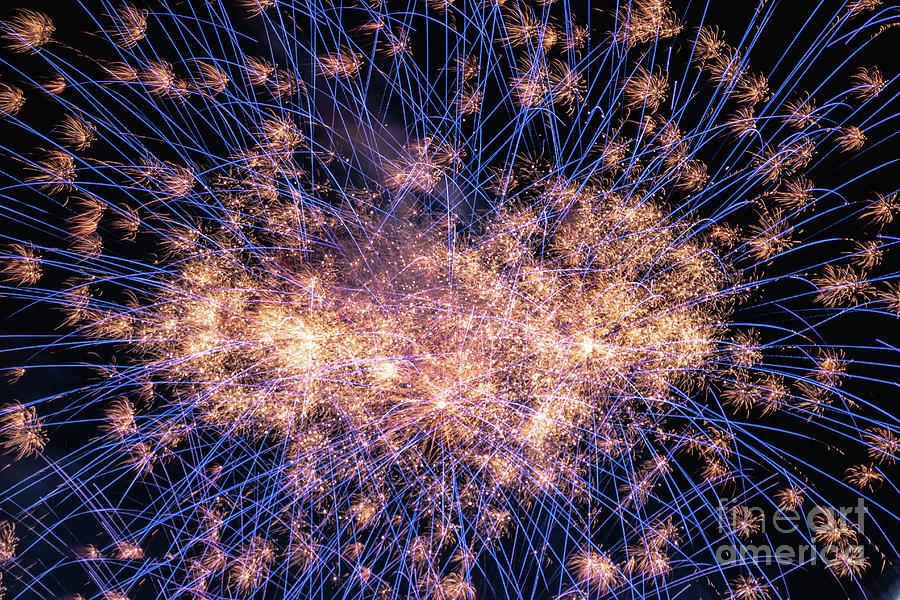 Fireworks Photograph - Fireworks 3 by Gina Matarazzo