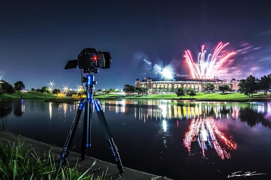 Fireworks Portrait by Tim Kuret