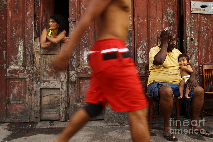 First 2014 Carnival Street Parade In Rio Photograph by Mario Tama