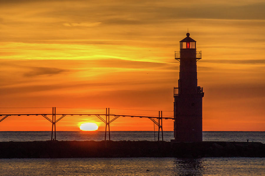 First and Last Lights by Bill Pevlor