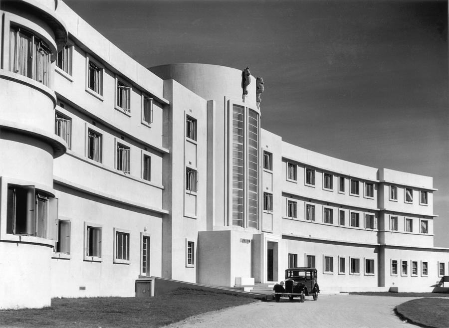 First Art Deco Hotel Photograph by Herbert Felton