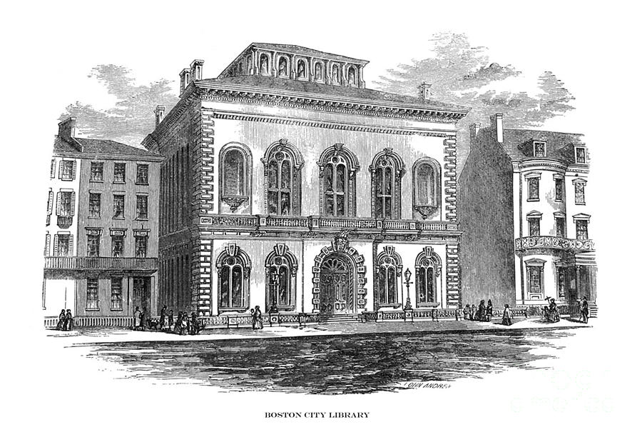 First Century United States illustrations - 1873 - Boston City Library - Illustration by Campwillowlake