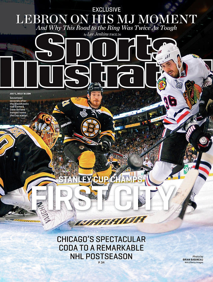 First City Stanley Cup Champs Sports Illustrated Cover Photograph by Sports Illustrated