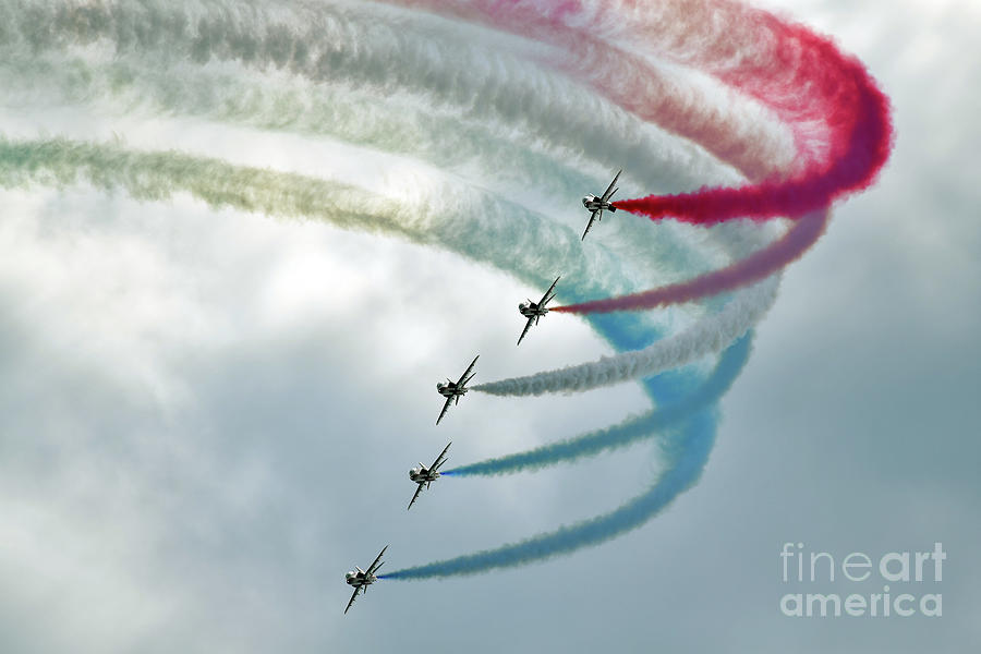 First Day Of The Bournemouth Air Show Photograph by Carl Court