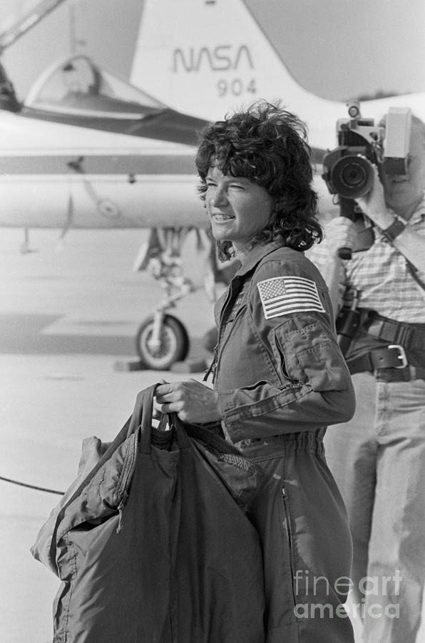 First Female American Astronaut Sally Photograph by Bettmann