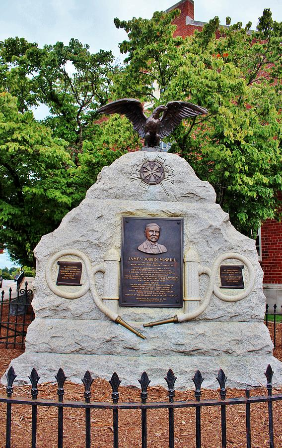 First Fire Chief Memorial by Cynthia Guinn