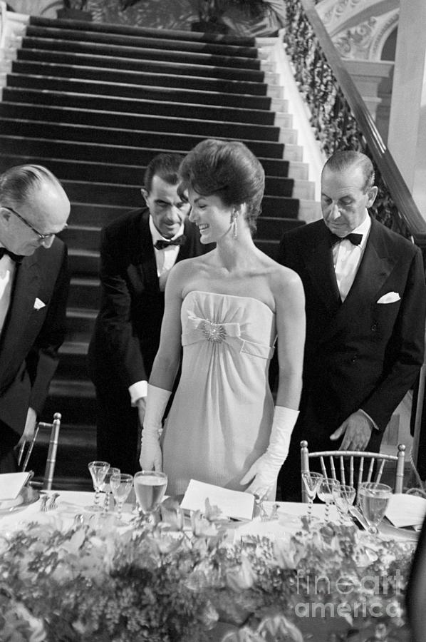 The Breakers Photograph - First Lady Jacqueline Kennedy by Bettmann