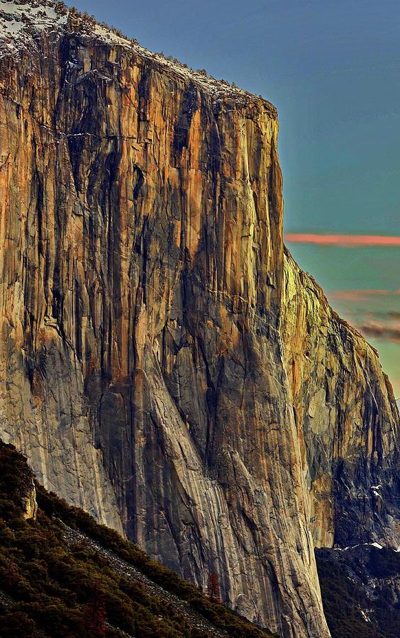 First Light - El Cap by Russ Harris