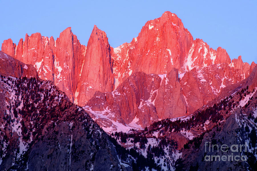 FIRST LIGHT, MOUNT WHITNEY by Douglas Taylor