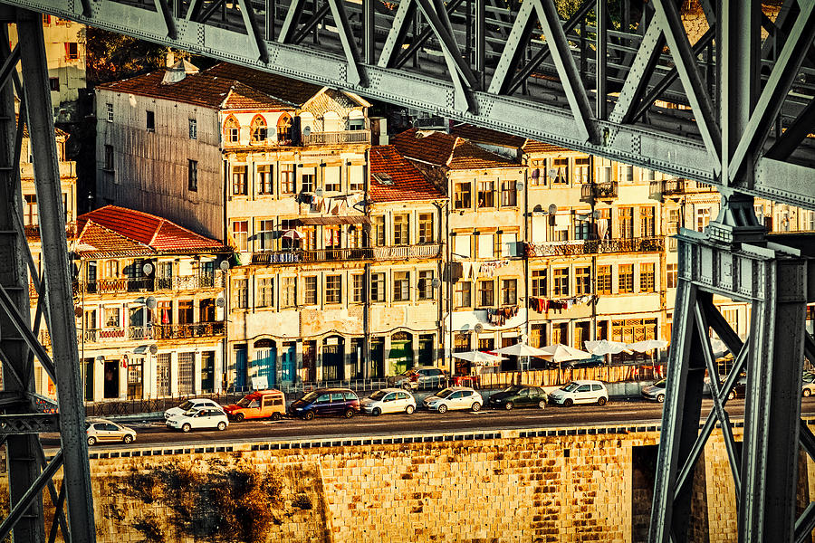 First Light On Porto #3 - Portugal by Stuart Litoff
