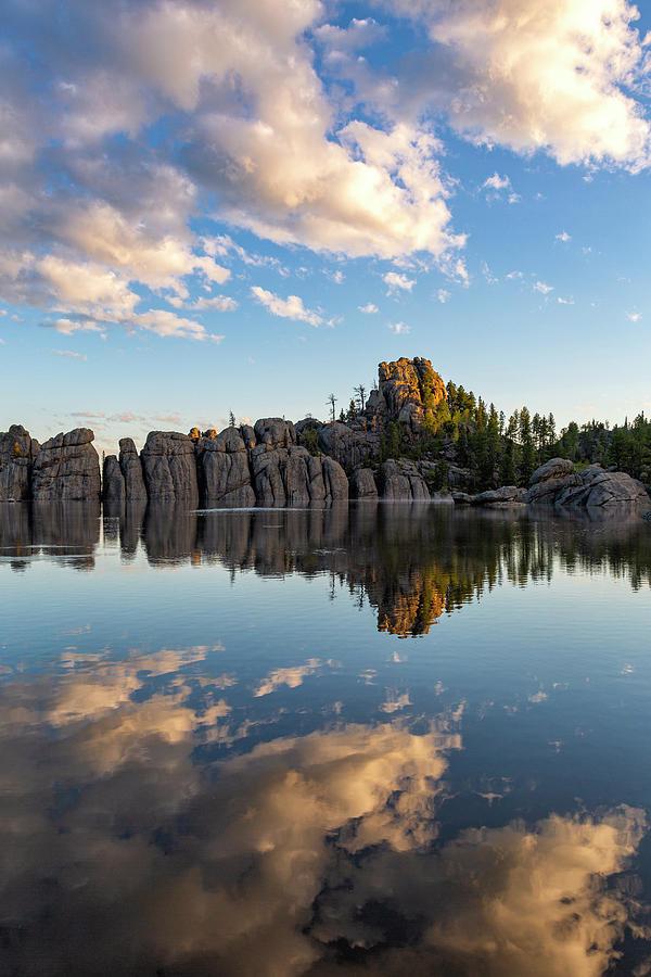 First Light, Sylvan Lake by Denise Bush