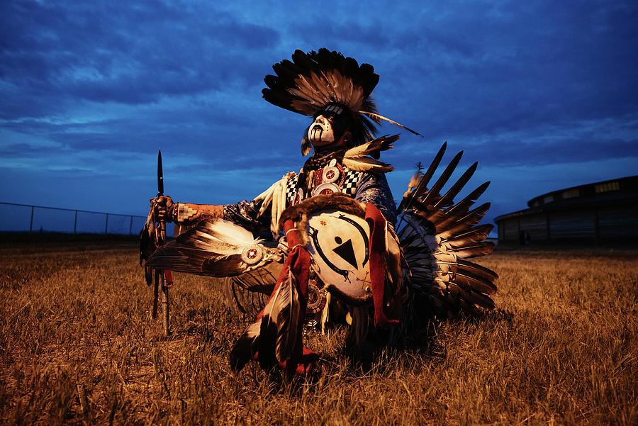 First Nation Dancer by Kamran Ali