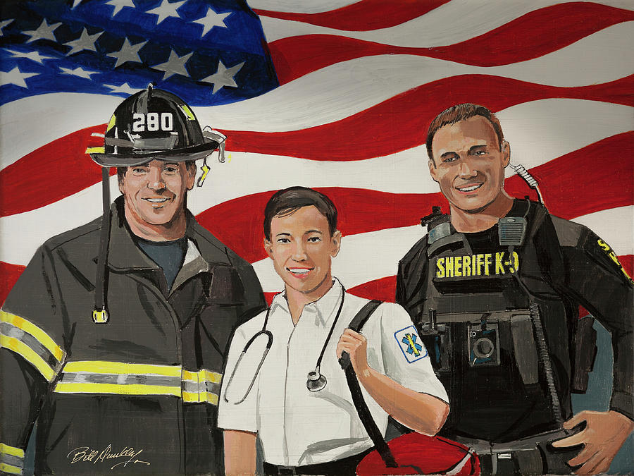 First Responders by Bill Dunkley
