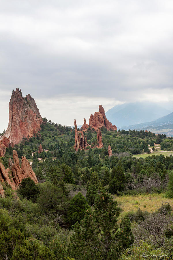 First view of the Cathedral valley. by Timothy Pinckard