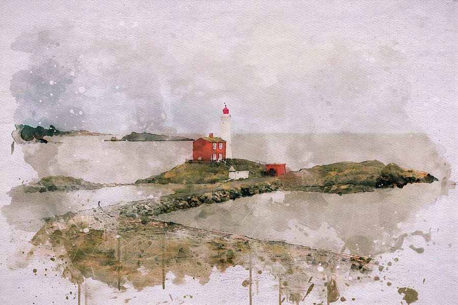Historic Fisgard Lighthouse by Marilyn Wilson