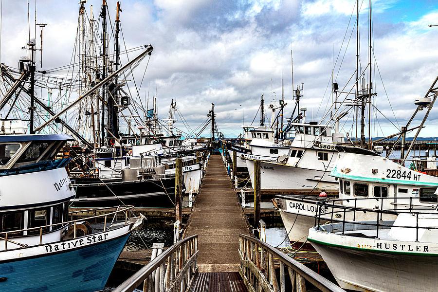 Fish Boats by Larry Waldon