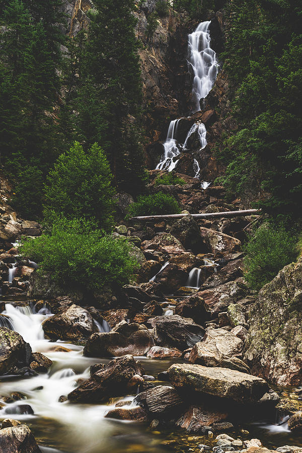 Fish Creek Falls 1 by Mati Krimerman