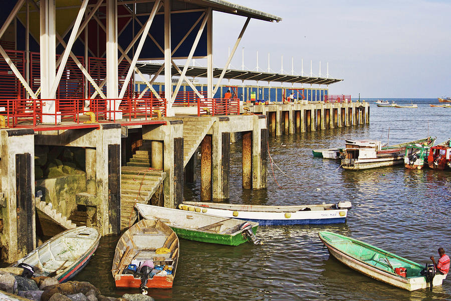Fish market pier in Panama by Tatiana Travelways