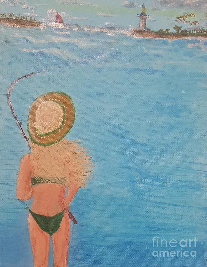 Fish on by Troy Jones