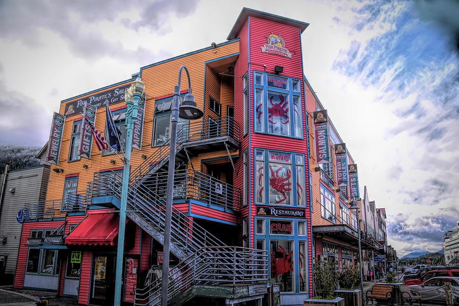 Fish Pirate Saloon Ketchikan Alaska by Floyd Snyder