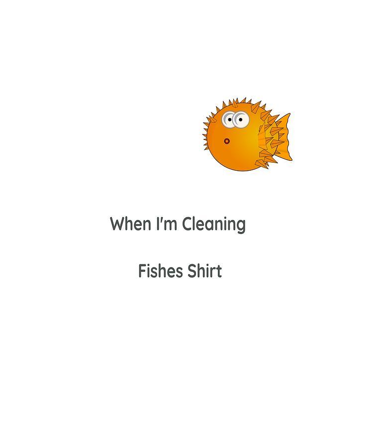 Fish T Shirt by Dawn OConnor