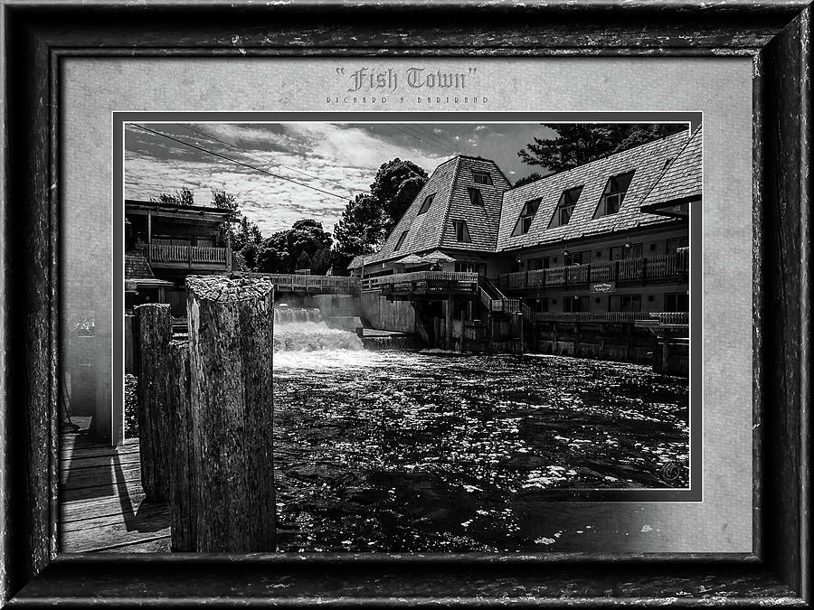 Fish Town BW by Rick Bartrand
