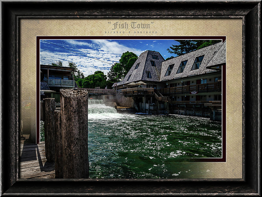 Fish Town Color by Rick Bartrand