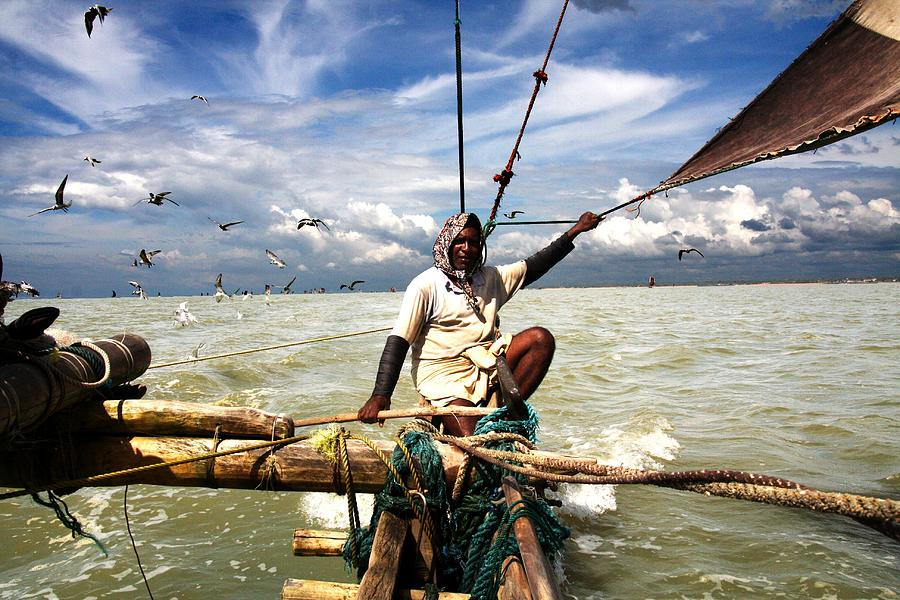 Fish Village  Traditional Shrimp Photograph by Guillaume Collet