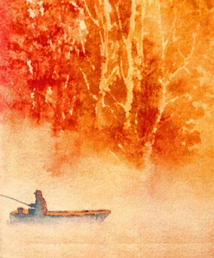Fishermans Mist Painting by Joseph Barani