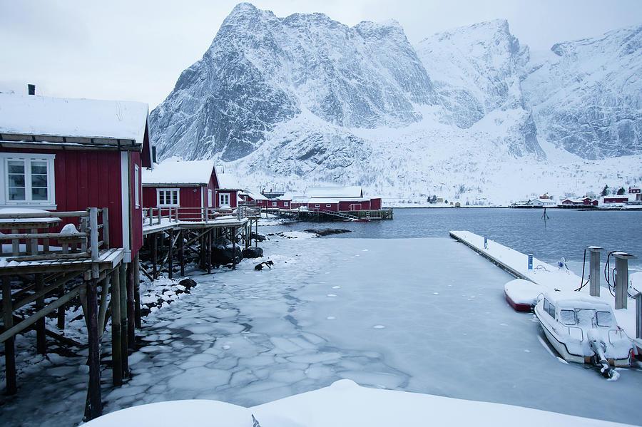 Fishermen Cabins In Lofoten Photograph by Wu Swee Ong