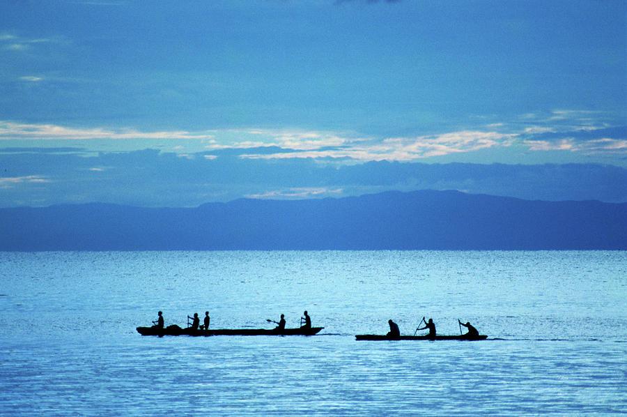 Fishermen Photograph by David Cayless